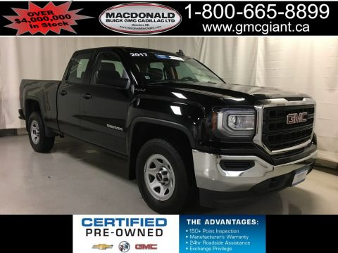 Certified Pre-Owned 2017 GMC Sierra 1500 Base 4x4 Truck Double Cab