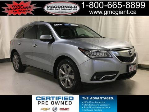 Certified Pre-Owned 2016 Acura MDX Elite Package AWD Sport Utility